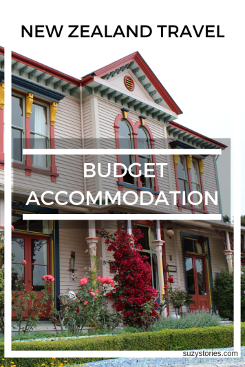 budget accommodation pin